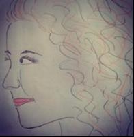 Wilma Lind, tegnet av Hanne Kristin Rohde - 2014